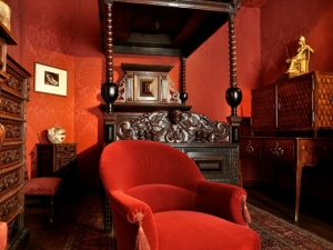"Take a Tour of Victor Hugo's ParisThis crimson-draped drawing room is where Victor Hugo solidified his position as the father of French Romanticism. The now museum used to be Hôtel de Rohan-Guéménée where Hugo lived from 1832 to 1848.Photograph by Flickr user Hotels Paris Rive GauchePhotos from: ""Take a Tour of Victor Hugo's Paris"" »"